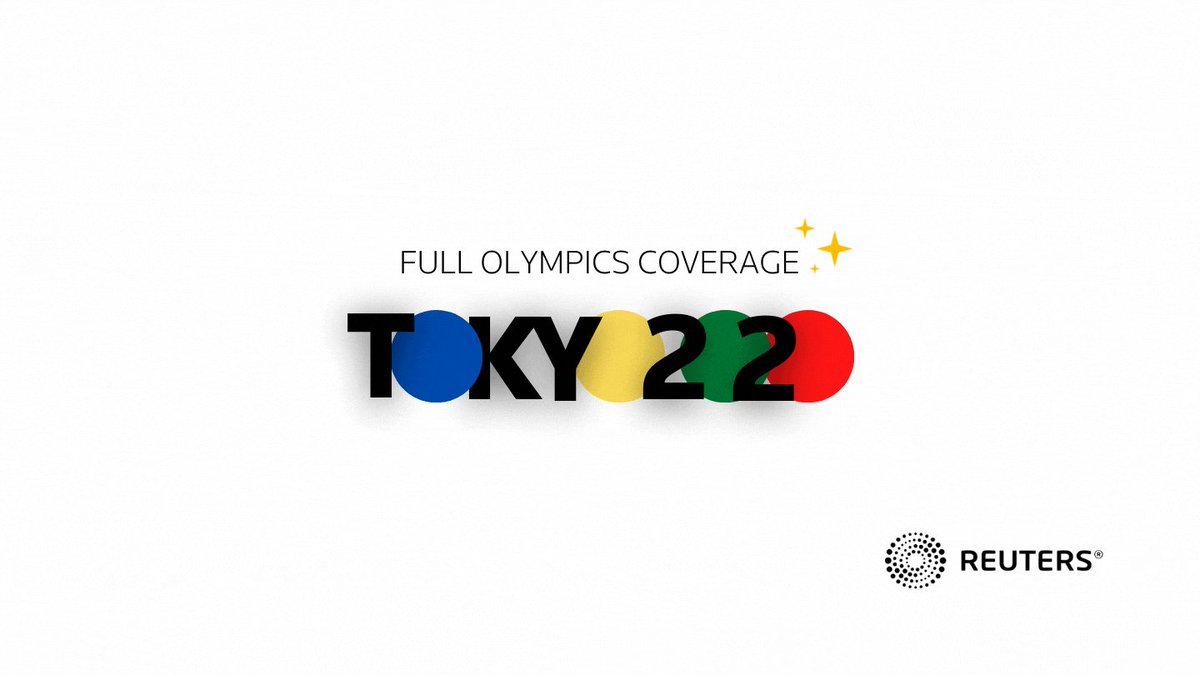 .@ReutersSports is covering all angles of #Tokyo2020  Don't miss a beat: https://t.co/e94YXOrCAM https://t.co/yrGd73Z8vK