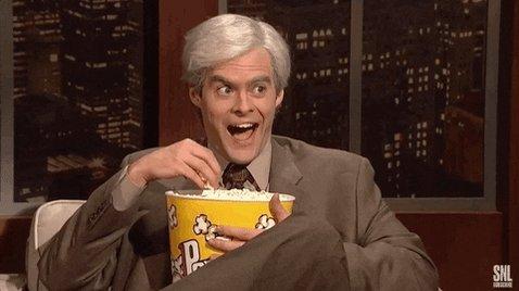 Bill Hader Popcorn GIF by S...