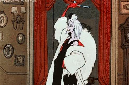 Hahahahaha Cruella GIF