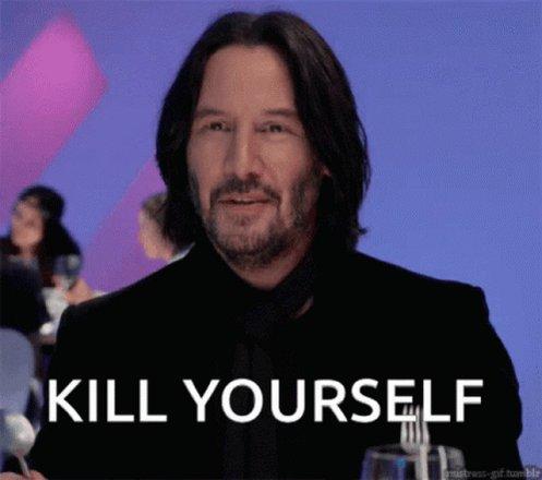 Kill Yourself Kys GIF