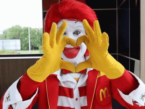Mcdonalds Ronald Mcdonald GIF