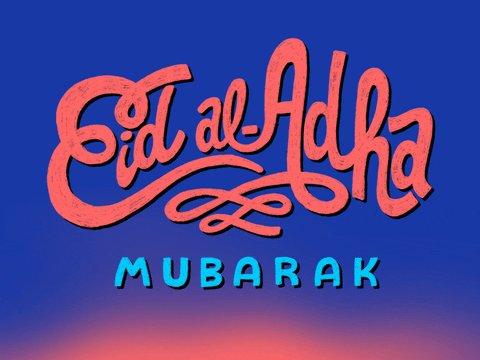 Image for the Tweet beginning: #EidAlAdha Mubarak to my Muslim
