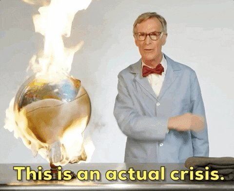 Climate Change Reaction GIF