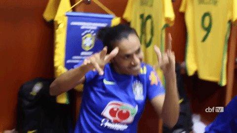 marta brazil GIF by Confederação Brasileira de Futebol