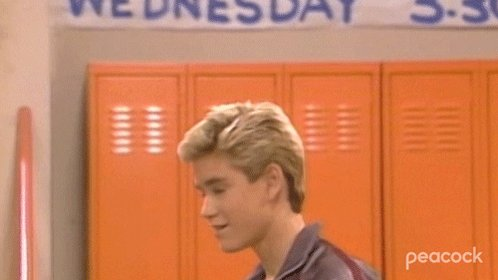 Saved By The Bell Idea GIF by PeacockTV