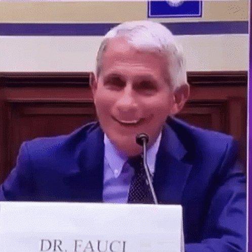 Dr Fauci Smile GIF