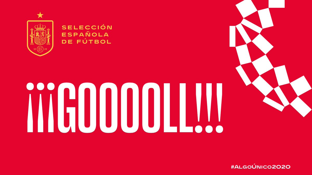 Image for the Tweet beginning: ⚽️ ¡¡¡GOOOOOOOOOOOLLLLL DE ESPAÑAAAAA!!! ¡¡¡GOOOOOOOLLLLAAAAAAAZOOOOOOO