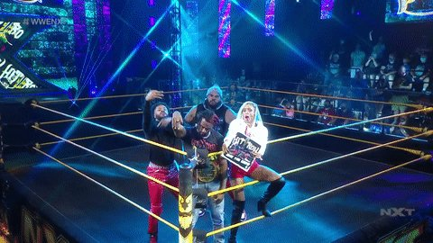 @WWENXT's photo on Hit Row