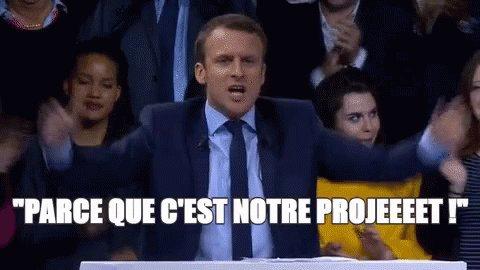 Emmanuel Macron GIF