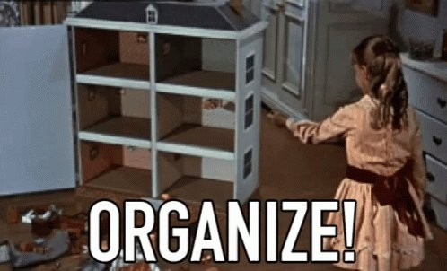 I'm determined to get organized (both at work & home) before the new school year launches! We've installed lots of new bins in the lab for small consumables. Now I have the home closets to tackle.  Anyone else binge-cleaning before the back to school rush? 1 week left for us 😱