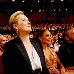 Meryl Streep Yes GIF