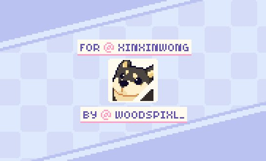 Going to make a thread of all these cutie #dog #animated #emotes that I made for @xinxinwong of her pet Ginko. 💚  If you like what you see- please feel free to check out my ko-fi page!  ☕️  #pixel #pixelart #ドット絵 #aseprite #animation
