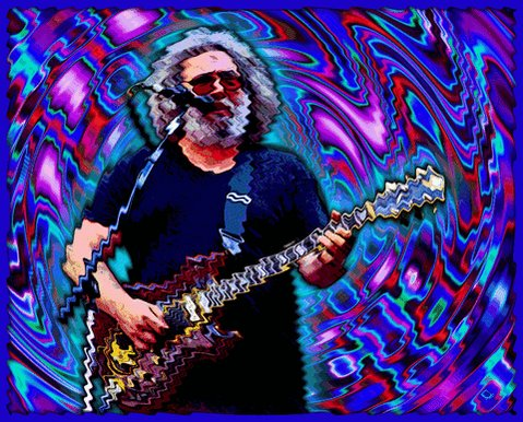 Happy birthday to MY MOM! (And also to Jerry Garcia)