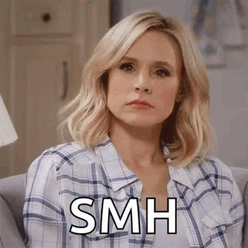 Kristen Bell SMH GIF