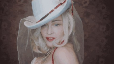 Happy Birthday to our Madonna GIF by