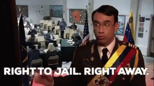 Jail Right To Jail GIF
