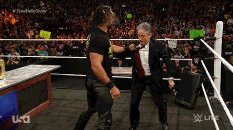 Jon Stewart Fighting GIF by WWE