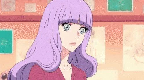 Princess Jellyfish Wig GIF
