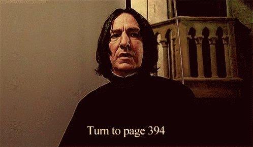Snape Alan Rickman GIF