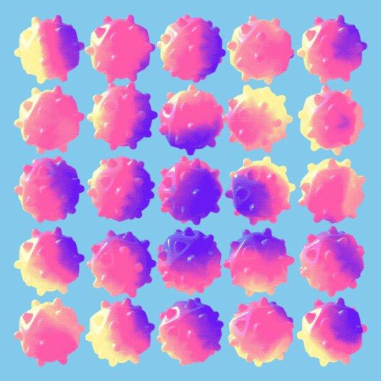 flu season candy GIF by Michael Shillingburg
