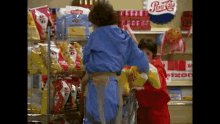 """Gif from the TV show """"Laverne and Shirley"""" where t"""