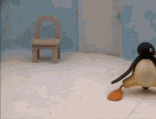 Pingu Dance GIF