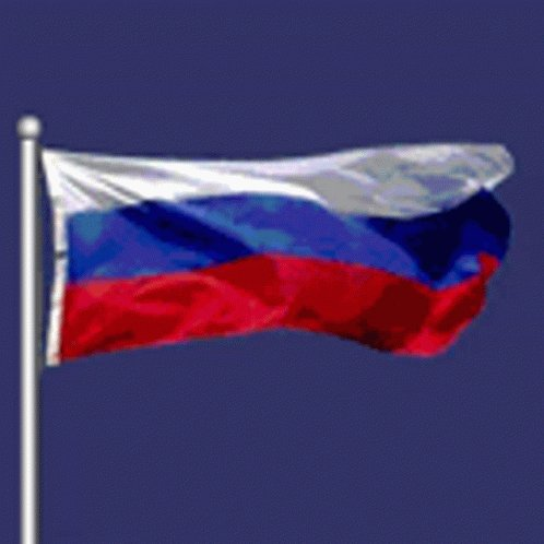 Russian Flag Russian Federation GIF