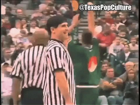 Happy birthday to part time referee Mark Cuban