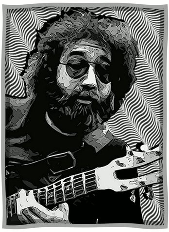 It s Jerry Garcia s Birthday.  Happy Birthday Jerry.