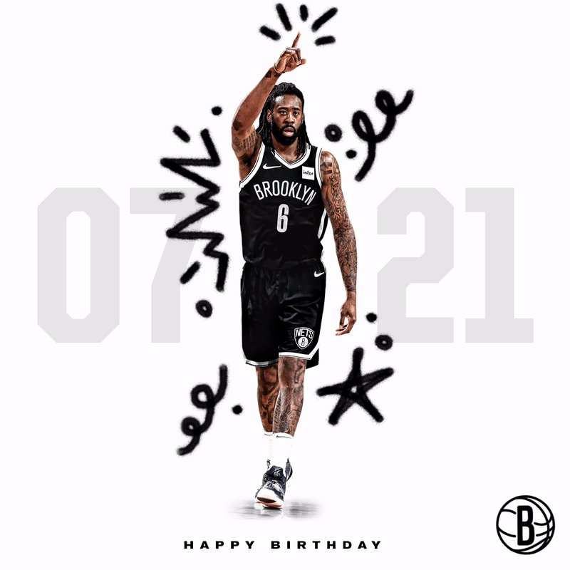Nets fans, help us wish @DeAndre a very happy birthday! 🎉