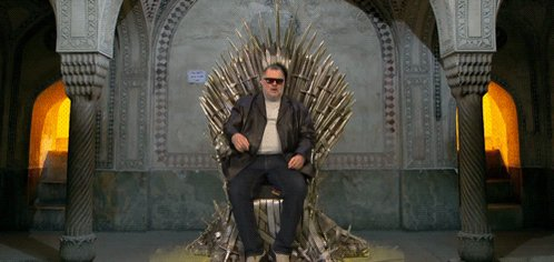 Protect your Iron Throne and avoid butt burn with Carmine Denunzio's Melt-Proof Thrones. https://youtu.be/7SQxQ5vYWdo #ConanCon #GameOfThrones