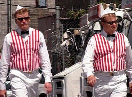 In 1997, Conan and Andy moonlighted as ice cream truck drivers. http://conan25.teamcoco.com/node/106173  #NationalIceCreamDay #Conan25