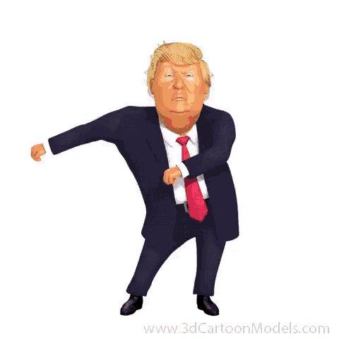 Image for the Tweet beginning: Shake it Mr. President!  @realDonaldTrump