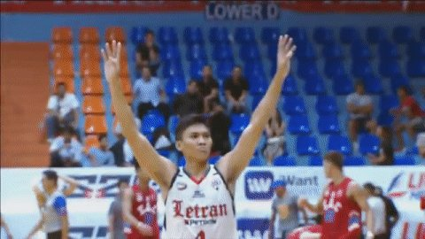 @iwant Letran holds on to beat EAC with Ato Ulars game-saving BLOCK, 91-89. #NCAASeason95