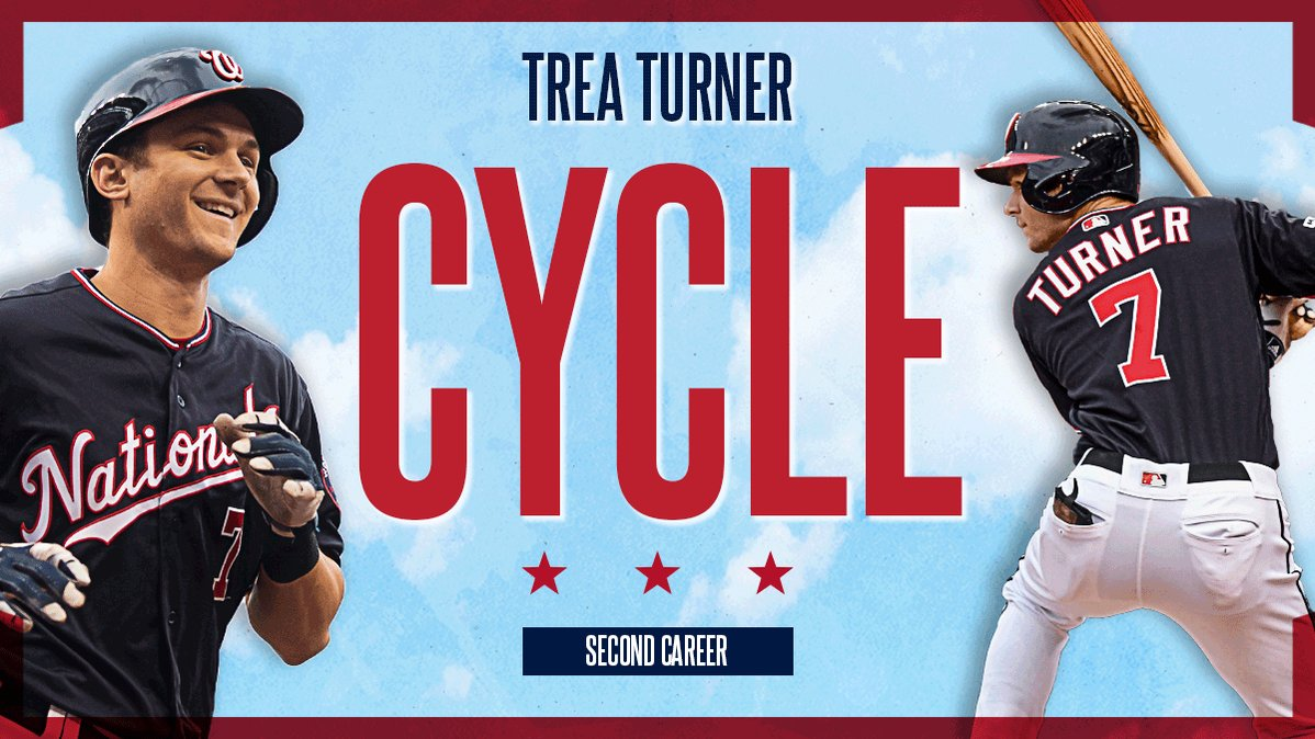 @Nationals's photo on Trea Turner