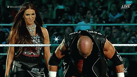 Nobody spits water like Triple H. Happy Birthday