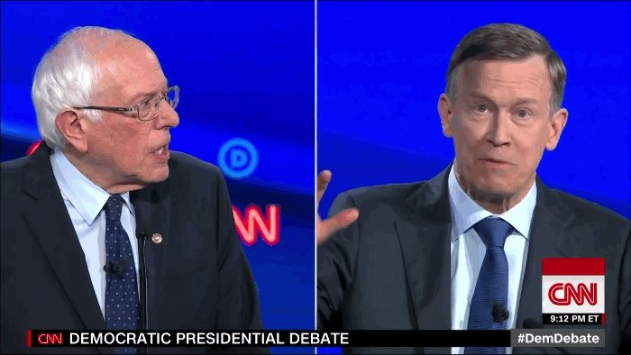 Shorter #DemDebate: 'I DON'T KNOW WHAT WE'RE YELLING ABOUT'