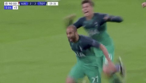 Happy birthday to Lucas Moura. What a night in Amsterdam!