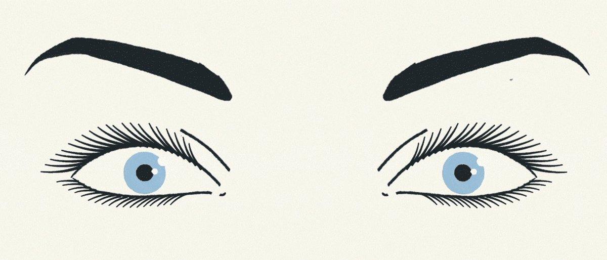 Подмигивание глазом анимация