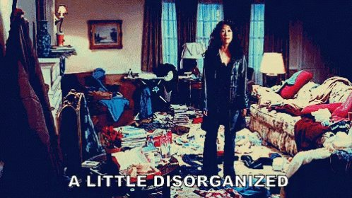 #IWouldntSayImAHoarderBut I'm just too lazy to clean