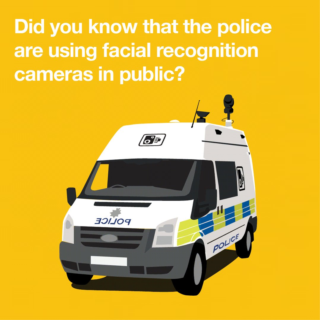 Image for the Tweet beginning: The use of facial recognition