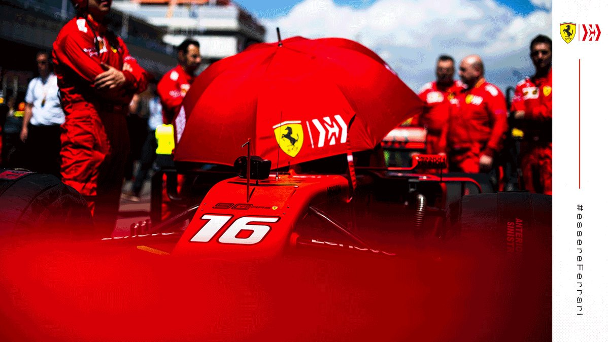 https://twitter.com/ScuderiaFerrari/status/1162695569556541440 …  A true love story… Charles_Leclerc and his umbrella ☂️#essereFerrari 🔴 pic.twitter.com/YeNKnR2WU4  — Scuderia Ferrari (ScuderiaFerrari) August 17, 2019