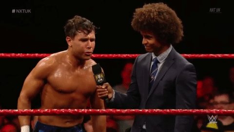 FANTASTIC NEWS! @NoamDar WILL be at #NXTUKTakeOver: Cardiff, thank you BUH-BYE! #NXTUK