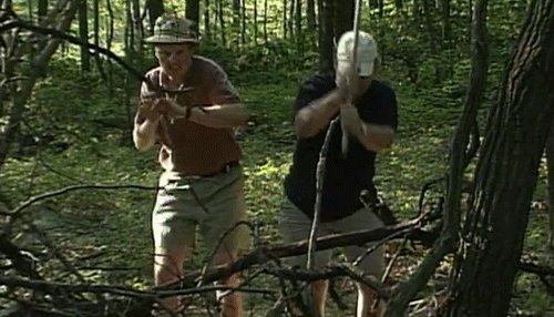 On this day in 1998, Conan and @AndyRichter attempted to rough it in the great outdoors. http://conan25.teamcoco.com/node/106252 #Conan25