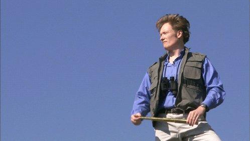 #TBT: Watch Conan go birdwatching in Central Park in 2005. http://conan25.teamcoco.com/node/107155 #Conan25