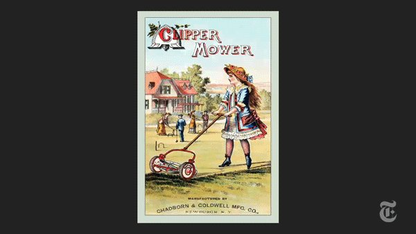 The wealthy, influenced by European estates, had lawns first: A month after the U.S. declared independence, George Washington was planning his own. But by the 1870s, lawns were accessible to the upper-middle class. And the 1950s, they were in the suburbs. https://nyti.ms/2KGg47h