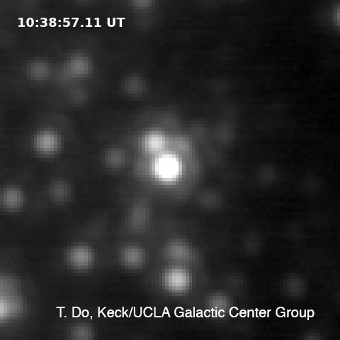 A Supermassive Black Hole At Our Galaxy's Center Flared Out, Astronomer Says