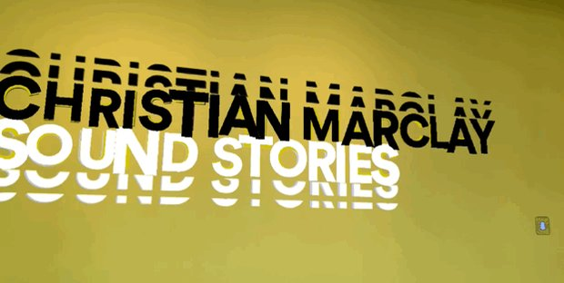 """Image for the Tweet beginning: Opening today: """"Christian Marclay: Sound"""