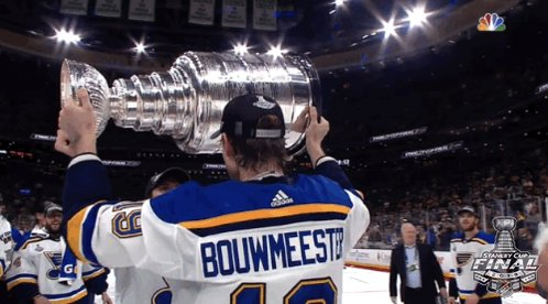It's Steener's day with the #StanleyCup! Summer with the Champs continues today in Sundsvall, Sweden 🇸🇪 #stlblues