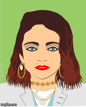 Happy Birthday to Madonna.